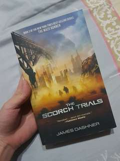 Novel The Scorch Trials - Maze Runner