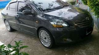 Toyota vios G manual 1.3 2013  mags 17 brand new tanabe pipe