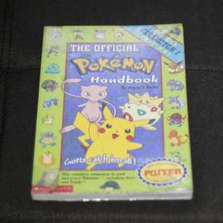 Official Pokemon Handbook by Maria Barbo