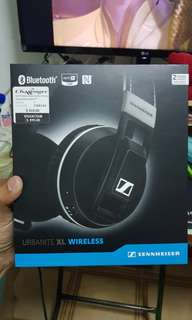 Sennheiser Urbanite XL wireless under 2 year international warranty