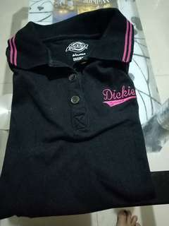 my preloved dickies polo- shirt