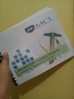 Malayan Colleges Laguna - Drawing Manual (Draw-022)