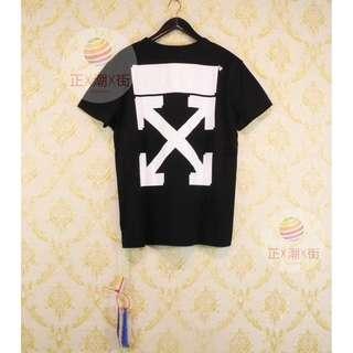 🔥全店9折🔥  👕Off White X Champion 刺繡LOGO TEE(黑色)👕