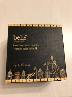 Belief moisture bomb cushion