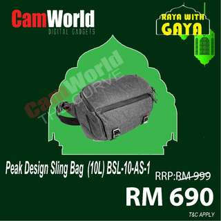 PEAK DESIGN SLING BAG 10L