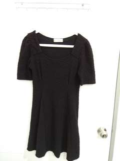 Mirrorcle Black Dress