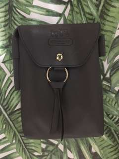 Faux Leather pouch / sling bag