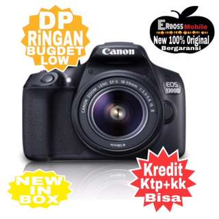 Canon EOS 1300D Kit EF-S 18-55mm Resmi-Kredit Dp call/wa;081905288895