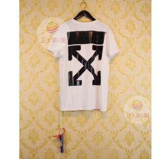 🔥全店9折🔥  👕Off White X Champion 刺繡LOGO TEE(白色)👕