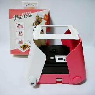 【盒裝附底片】功能正常 九成新 printoss 拍立得 相印機 翻拍機 非mini8
