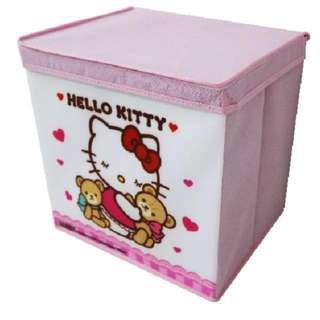 10pcs Hello Kitty Original Genuine License Foldable Storage Box