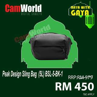 PEAK DESIGN SLING BAG 5L