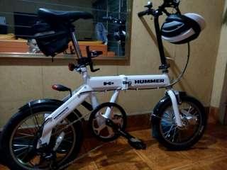 Hummer h2 sz16 folding bike