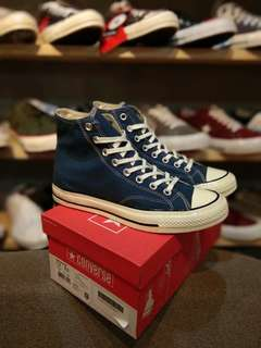 converse 70s hi navy/off white