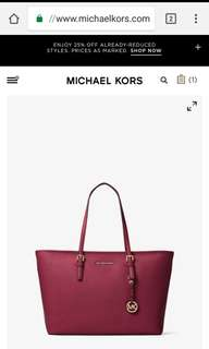 Pre-order: MK JET SET TOTE (MEDIUM)