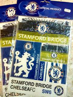 Chelsea FC Sticker Stamford Bridge Design Original