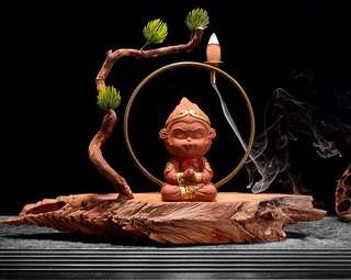 WuKong Backflow Incense Burner 悟空倒流香炉