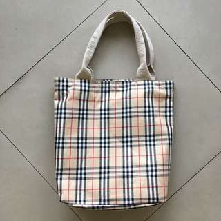 Burberry Totebag #mausupreme