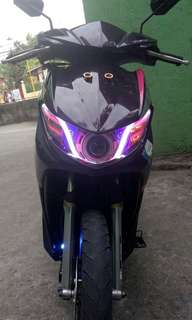 MIO SOUL I  FI 115-purple metallic