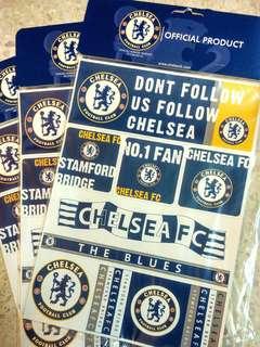 Chelsea FC Sticker Mixed Design Original