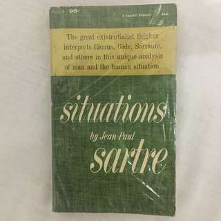 Situations by Jean Paul Sarte