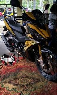 Coverset Honda RS150R winner 150 suora gtr