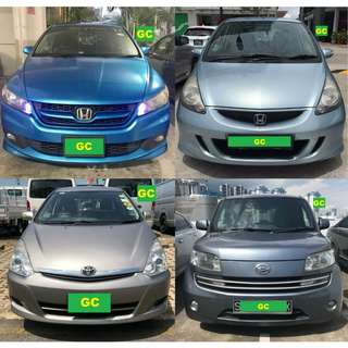 Toyota Wish FOR RENT CHEAPEST RENTAL FOR Grab/Ryde/Personal