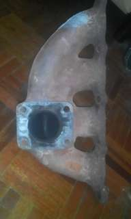 Exhaust manifold VR4 with wastegate outlet
