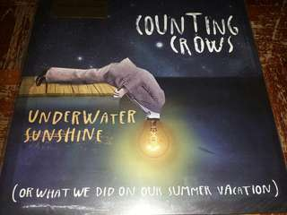 Vinyl Record 2xLP: Counting Crows ‎–Underwater Sunshine (Or What We Did On Our Summer Vacation)
