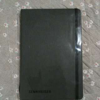 Sennheiser notebook(leather cover)