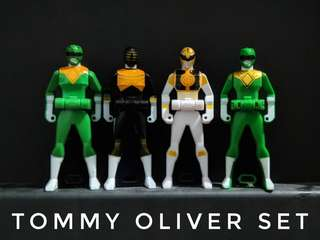 Tommy Oliver and OhKing Ranger Keys (DX Green - SOLD)
