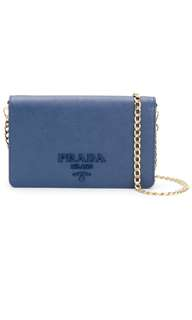 Prada Saffiano wallet bag