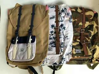 Authentic Herschel Little America Backpacks