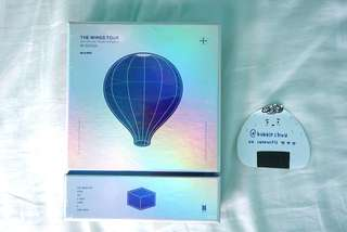 [SEALED] BTS THE WINGS TOUR DVD BLU-RAY