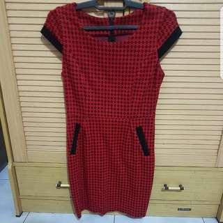 Dress Merah Baju Lebaran