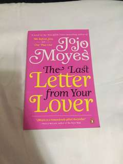 NEW The Last Letter from Your Lover by Jojo Moyes