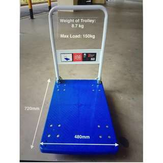 Foldable Hand Truck Trolly 150KG (FREE DELIVERY)