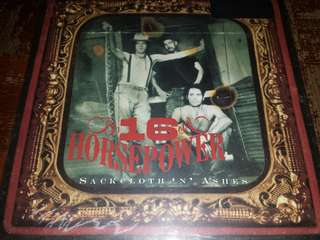 Vinyl Record LP: 16 Horsepower ‎– Sackcloth 'N' Ashes