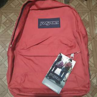 NEW RED JANSPORT BACKPACK CLASS A