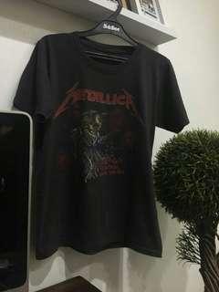 Kaos Import Original Band Metallica
