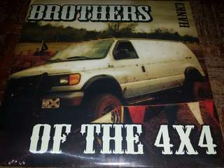 Vinyl Record 2xLP (Sealed): Hank3 –Brothers Of The 4x4