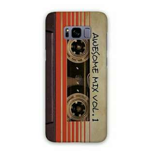Awesome Mix Vol 1 Samsung Galaxy S8 Plus Custom Hard Case