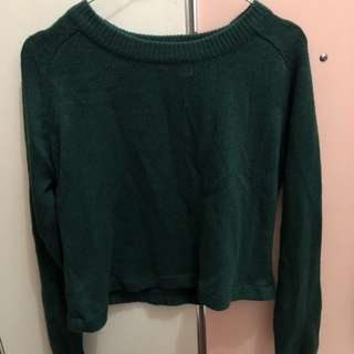 H&m Cropped Sweater / Sweater Crop