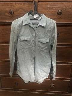 Cotton on green shirt