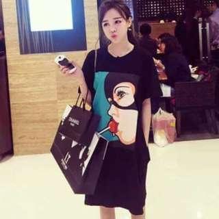 Korean Plus Size Dress - COD