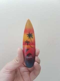 bali surfboard magnet