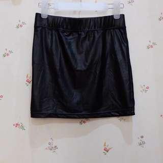 Latex Skirt Bershka