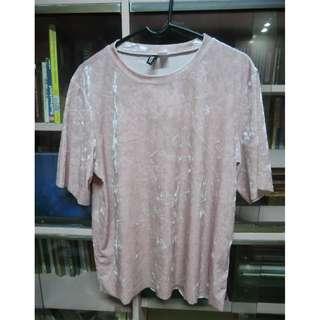 Pink Suede Shirt