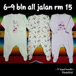 Sleepsuit babies 6-12 bln