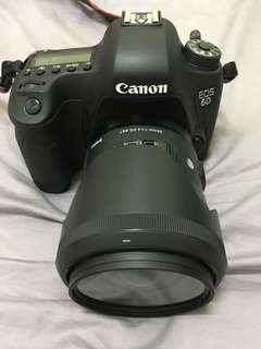 Canon 6 D with sigma 35mm f1.4